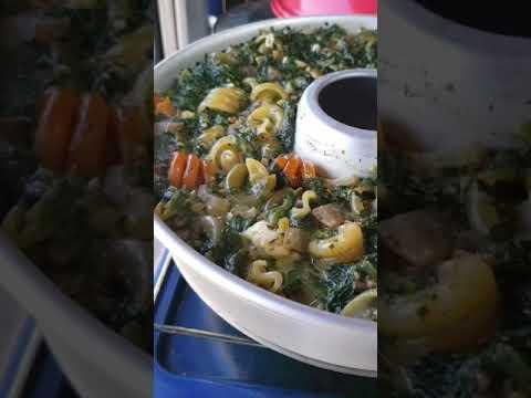 One Pot Pasta aus dem Omnia Backofen